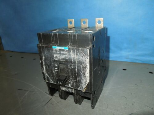 Siemens Bqd345 45a 3p 480v 50/60hz Circuit Breaker Type Bqd Used