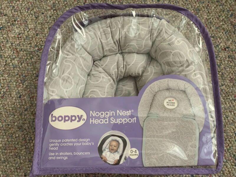 Boppy Noggin Nest Head Support, Baby Round Head Pillow