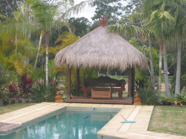 Bali Hut Bali Thatch Best Quality Building Materials Gumtree Australia Brisbane North