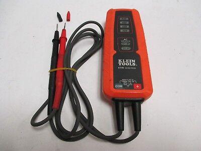 Klein Tools Et 50 Voltage Tester 120v 220v 480v 600v Meter