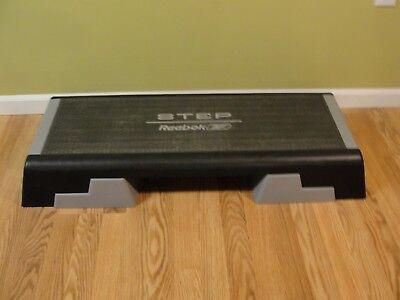 Reebok Aerobics Step Cardio Workout Stepper w Adjustable Risers 6
