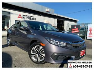 2017 Honda Civic LX; Local & No accidents
