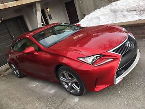 Lexus RC 300 2016 reprise de bail