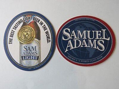2003 Pub Coaster ~ SAMUEL ADAMS Best Tasting Light Beer in the World Gold