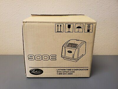 Lathem 900e Time Clock