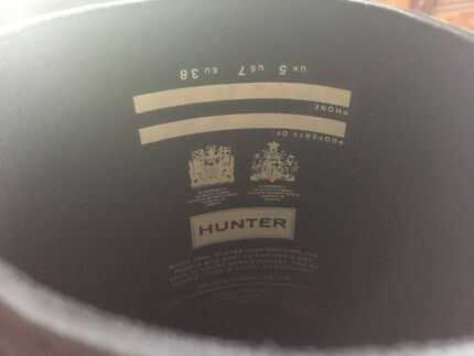 Hunter gym boots - Brand new Genuine