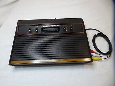 Atari 2600 Console 4 switch only A/V Modded Seller Refurbished
