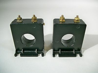 Instrument Transformers E93779 Current Transformer Ratio 1005 - Used - Lot Of 2
