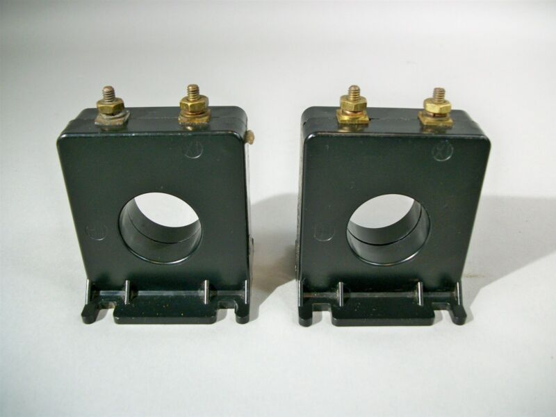 Instrument Transformers E93779 Current Transformer Ratio 100:5 - Used - Lot of 2