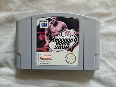 KNOCKOUT KINGS 2000 Nintendo 64 N64 Game PAL VERSION