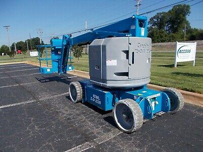 2012 Genie Z3422n Gen9900 34 Articulating Boom Lift With Jib 34 Man Lift