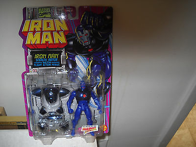 Iron Man Action FigureIron ManStealth Armor vfnm on Card