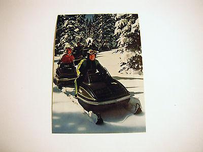 """Vintage Arctic Cat """"El Tigre"""" Dealer Card"""