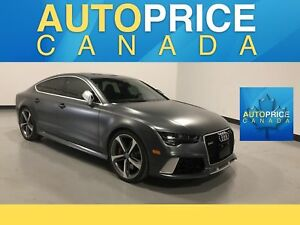 2016 Audi RS 7 4.0T performance NAVIGATION|REAR CAM|LEATHER