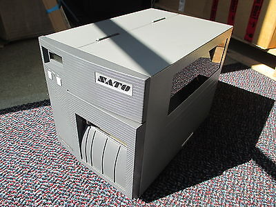SATO CL408E Direct Thermo Transfer Barcode Label Drucker Parallel POS REWINDER