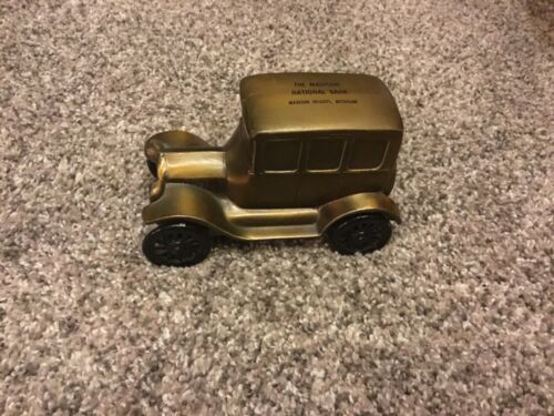 Vintage 1928 Ford-The Madison National Bank w/ Key- Madison Heights, Michigan