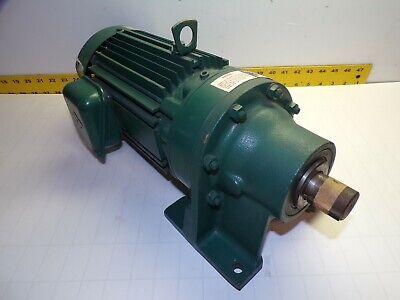 New Sumitomo 2 Hp Gear Motor 230460 Vac 292 Rpm F-90l Out 61 Ratio Hm 3105 B