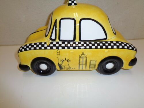 NEW YORK CITY TAXI Car COOKIE JAR Studio Nova