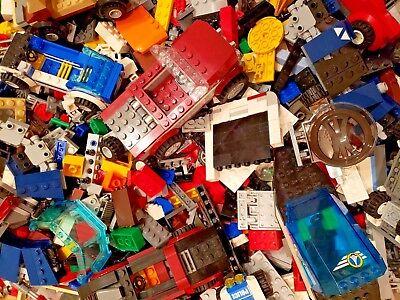 2 POUNDS OF LEGO Bulk lot Bricks parts pieces - 100% Lego Star Wars, City Potter