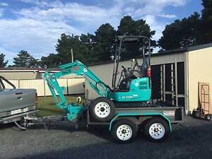 FOR HIRE - 1.7t EXCAVATOR - YOU DRIVE, YOU SAVE $$ Spreyton Devonport Area Preview