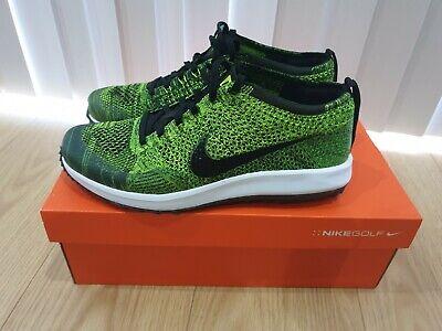 Nike Flyknit Racer G Golf Shoe. Uk Size 9