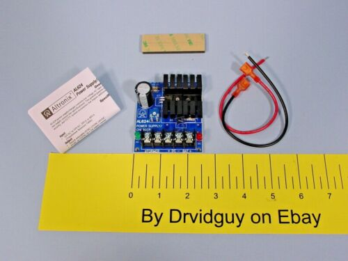 Altronix AL624 Linear Power Supply/Charger; 6VDC, 12VDC @ 1.2A; 24VDC @ .75A