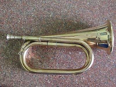 Bugle Brasswind Musical Instrument Army Bigul BRASS BAND MUSICAL INSTRUMENT