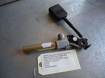 seat belt lock tensioner left front N/S Renault Scenic I 3094101 1.9dCi 75kW F9Q