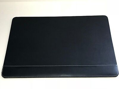 Black Desk Pad 14 In H X 20 In W With Padded Wrist Rest