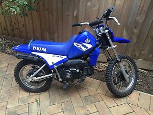 Peewee 80 Yamaha 2004 blue Eltham Nillumbik Area Preview