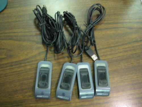 Lot of 4 Upek Eikon TCRF1S USB Touch FingerPrint Reader