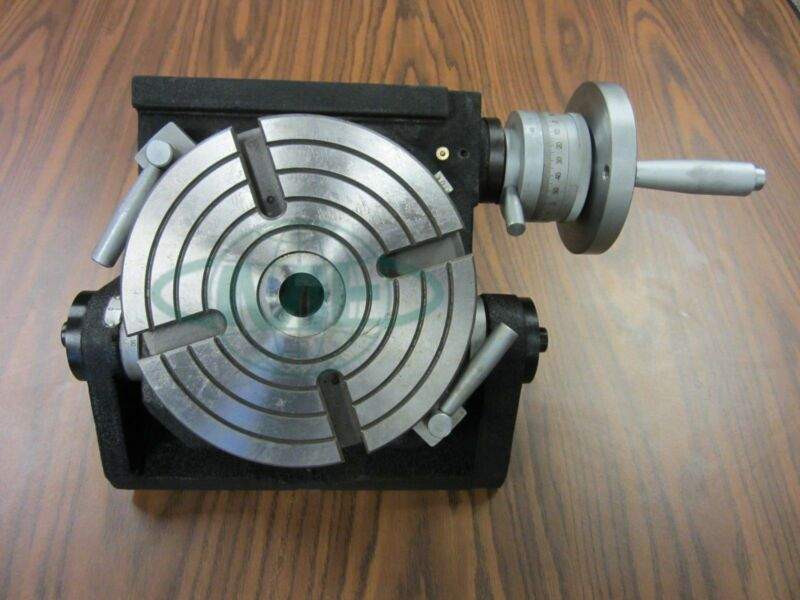 "8"" PRECISION TILTING ROTARY TABLE, Part#TSK-200- NEW"