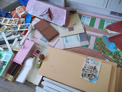 SINDY SUPER HOME / HOUSE / STABLE / GARAGE ETC FOR SPARES / REPAIR