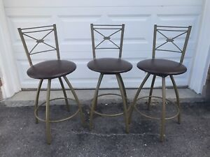 Bar stools Barstools - set of 3