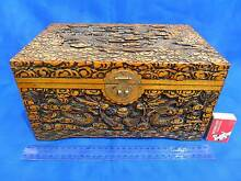 Miniature Carved Camphor Chest Balwyn North Boroondara Area Preview