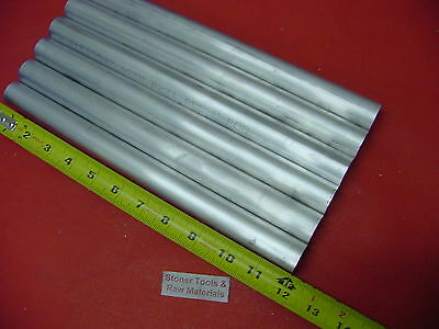 6 Pieces 1 Aluminum 6061 Round Rod 12 Long Solid T6511 Lathe Bar Stock 1.00