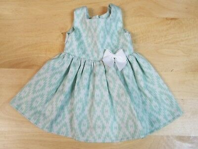 CUTE DRESS FITS 18 DOLLS- AMERICAN GIRL-MADAME ALEXANDER-OUR GENERATION  - $4.99