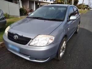2003 Toyota Corolla Conquest Seca 5 Sp Manual 5d Hatchback
