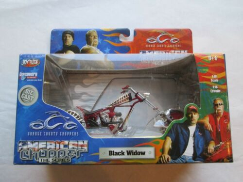 ORANGE COUNTY CHOPPERS MOTORCYCLE COLLECTIBLE BLACK WIDOW FREE SHIPPING USA NEW