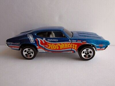 HOT WHEELS OLDS 442 W-30 #871 FROM THE 1998 MAINLINE SERIES RACE TEAM COLORS