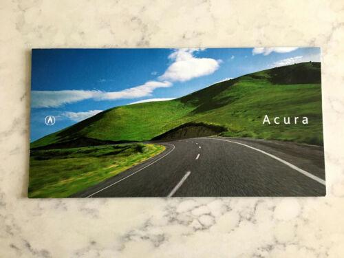2002 Acura Brochure Folder NSX RSX MDX 3.5RL 3.2TL 3.2CL Excellent Original