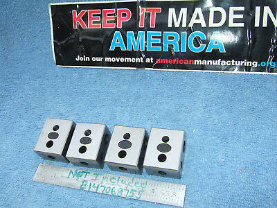 Moore Tool Co. Blocks 4 Blocks Parallels Toolmaker Machinist Inspection Qa