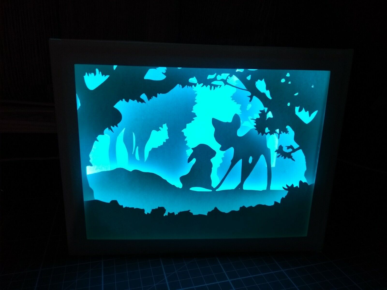 DIY Frame - SHADOWBOX , PAPER CRAFT QUILLING.  2 - 6.5 CM DEEP   PDF, SVG ,SCUT  6