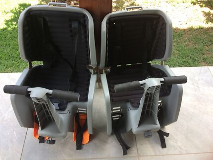 2 x Child bicycle seats