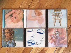 6 CDs Madonna