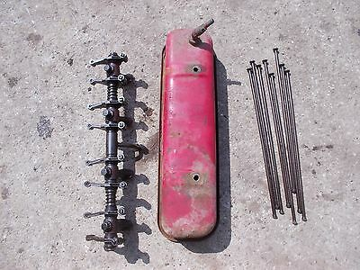 International 300 Utility Tractor Ihc Engine Motor Rocker Arm Assembly Push Rods