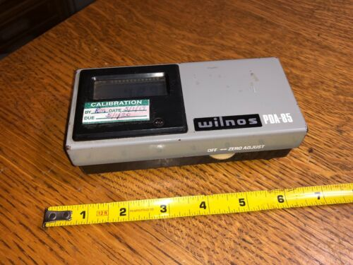 WILNOS PDA-85 DENSITOMETER CALIBRATION DUE 5/1/20