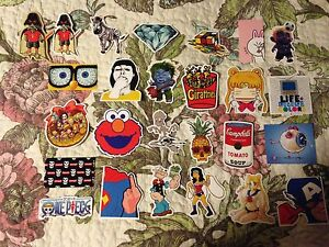 Pop culture stickers