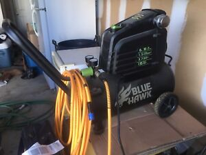 Blue Hawk 8 gallon compressor