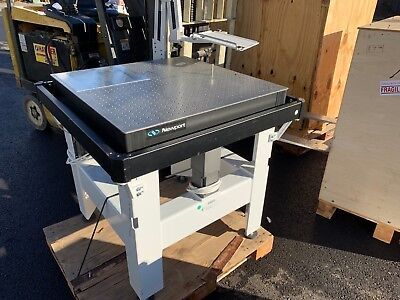 Newport Optical Breadboard Isolation Table Lab Bench 30 X 30 W Monitor